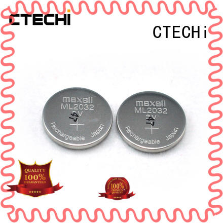 CTECHi digital rechargeable coin cell component for household