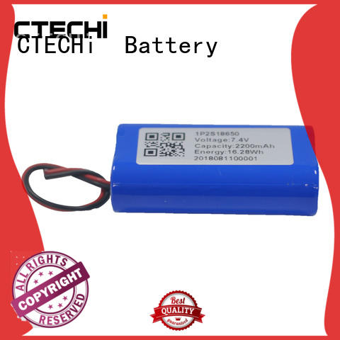 74v rechargeable battery pack design for power bank CTECHi