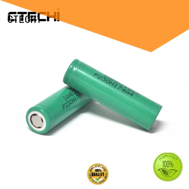 lg lithium ion battery high capacity for flashlight CTECHi