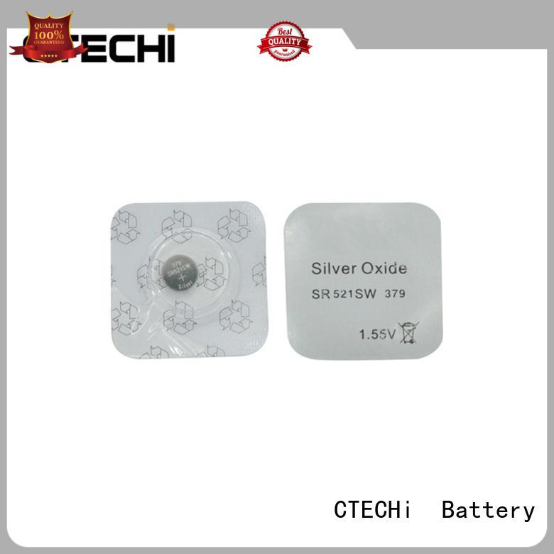 CTECHi sliver oxide battery design for remote key