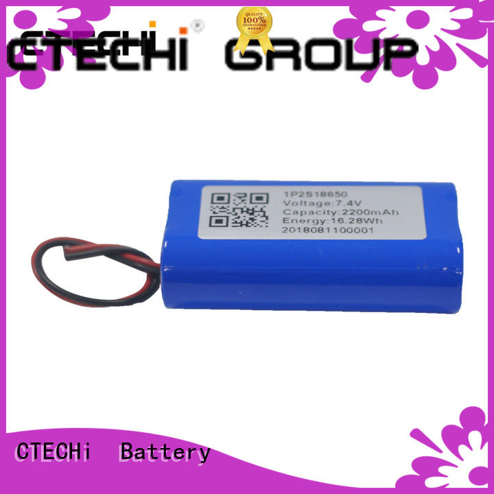 CTECHi professional li ion battery pack series for power bank