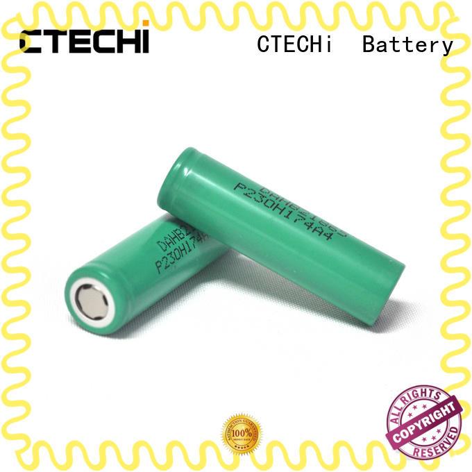 CTECHi lg lithium battery customized for flashlight