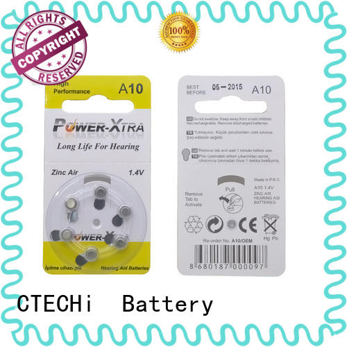 widely used rechargeable zinc air battery supplier for digital watch