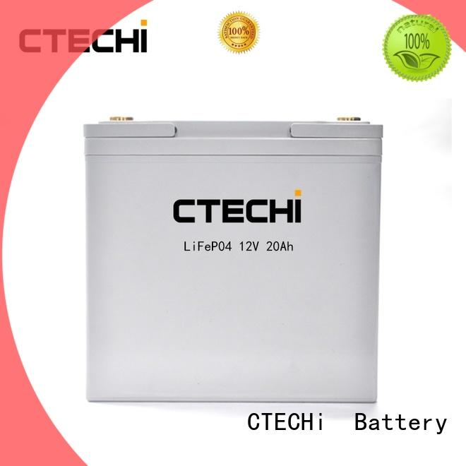 CTECHi multifunctional lifepo4 battery pack 12v for small electric vehicles