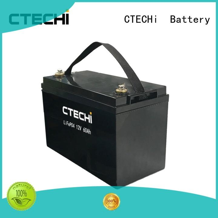 CTECHi lithium battery pack factory for golf cart