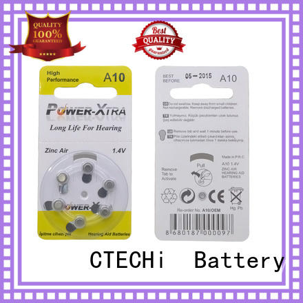 Hearing Aid Zinc Air battery 1.4V