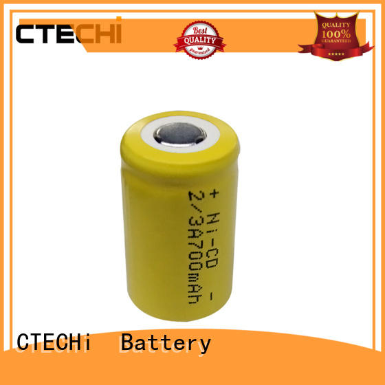 NI-CD rechargeable battery 2/3A size 1.2V