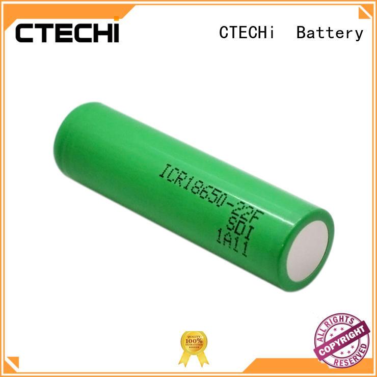 high capacity lithium battery ICR18650-22F 3.6V