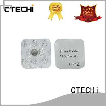 small watch button batteries design for remote key CTECHi